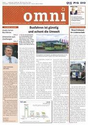 Busfahren ist günstig und schont die Umwelt - Bus Thüringen