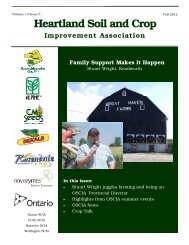 September 12 - Ontario Soil and Crop Improvement Association