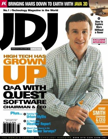 high tech has grownup - Quest Software