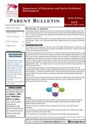 Bulletin 6 - Drouin Secondary College
