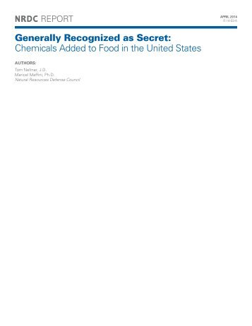 safety-loophole-for-chemicals-in-food-report