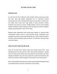 Anak Tak Sah Taraf - Jabatan Kemajuan Islam Malaysia