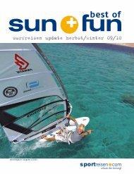 Surfreisen Update Herbst/winter 09/10 - Sun & Fun