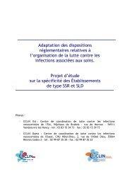 Projet d'étude sur la spécificité des établissements de type SSR et ...