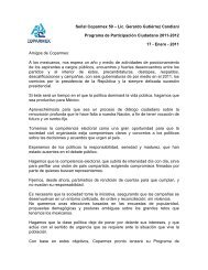 Señal Coparmex 59 – Lic. Gerardo Gutiérrez Candiani Programa de ...