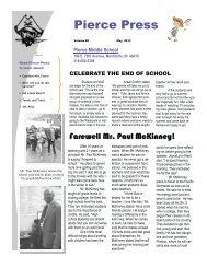 May 2013 Edition - Merrillville Community School