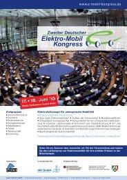 Programm - Bundesverband eMobilität e.V.
