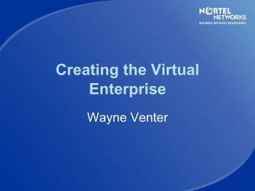 Creating the Virtual Enterprise - Digital Coast