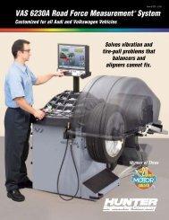 VAS 6230A Road Force Measurement® System - Hunter ...