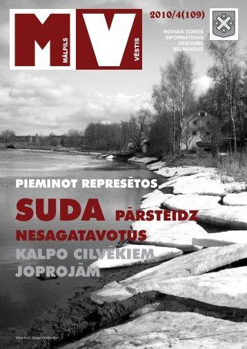 Nr.4 (109) Aprīlis - Mālpils