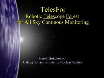 TelesFor - Pi of the Sky