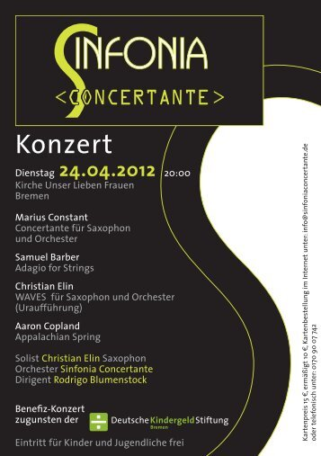 Sinfonia Concertante