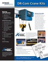 Dr-Com Crane Kits - Demag Cranes & Components