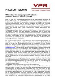 PRESSEMITTEILUNG - Italweg