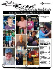 Connection - South Suburban Parks and Recreation