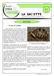 Juin 2007 - Association du refuge des tortues