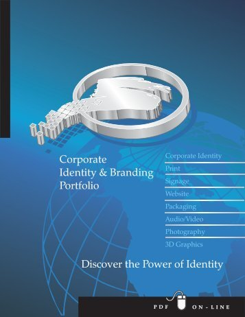 Portfolio 1--Corporate Identi... - Website