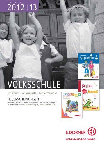 VOLKSSCHULE - Verlag E. Dorner