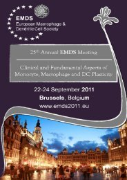Here - European Macrophage and Dendritic Cell Society