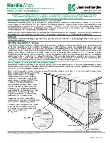 james hardie siding installation instructions