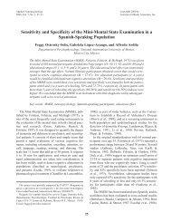 Parkinson's Toolkit Mini-Mental State Examination (MMSE)