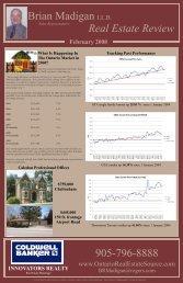 February 2008 ~ Real Estate Review - OntarioRealEstateSource.com