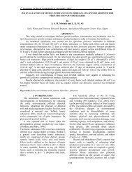 918 (94) EVALUATION OF HUMIC SUBSTANCES ON SPIRULINA ...