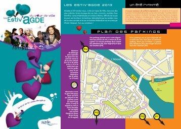 Estiv'Agde 2013 programme