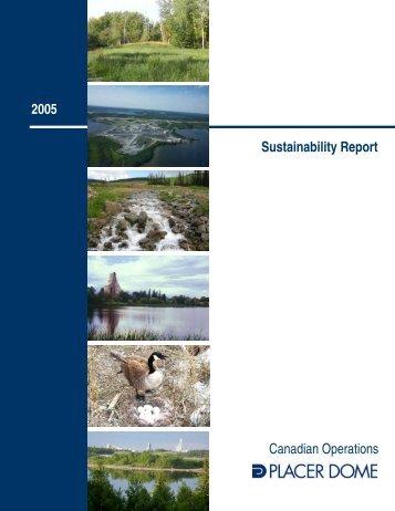 2005 Sustainability Report.v5.pub - Goldcorp