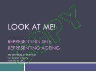L Representing Self, Representing Ageing - New Dynamics of ...