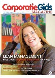 MAGAZINE LEAN MANAGEMENT - Corporatiegids.nl