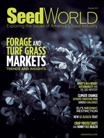 FORAGE AND TURF GRASS - Seed World