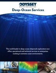 Deep-Ocean Services - Odyssey Marine Exploration