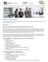 Newsletter Vol 56 Spotlight - Softengine Inc.
