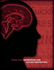 Picture This: Depression and Suicide Prevention - Entertainment ...