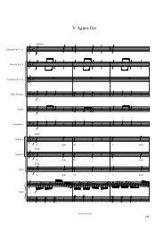 Finale 2001c - [PARTHolzMissa-Agnus.MUS] - Musikland Tirol