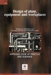 Design of plant, equipment and workplaces - Health and Safety ...