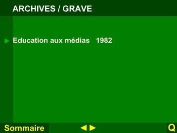 Education aux médias - Espace d'échanges pédagogiques