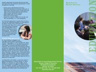 Bachelors in Human Services - Darden College of Education - Old ...