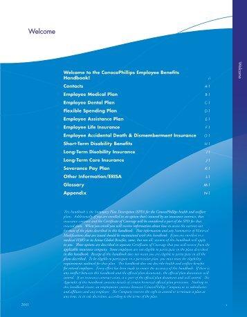 Employee Handbook 2011.pdf - ConocoPhillips