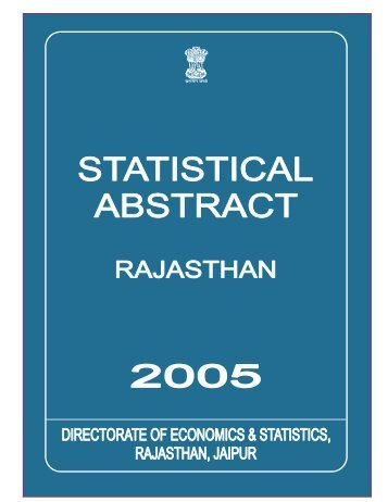 statistical abstract 2004 title - Directorate of Economics & Statistics