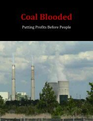 Coal Blooded: Putting Profits Before People