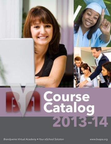 2013-2014 Course Catalog - Pottsgrove School District