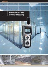 Temperatur- und Umweltmessung