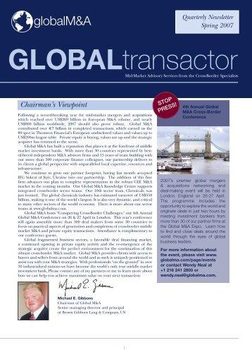 GLOBALtransactor - Arctos