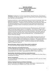 MEETING SUMMARY RI Economic Monitoring Collaborative March ...