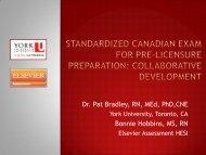 Dr. Pat Bradley, RN, MEd, PhD,CNE Bonnie Hobbins, MS, RN - IUPUI