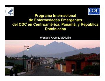 Programa Internacional de Enfermedades Emergentes del CDC en ...