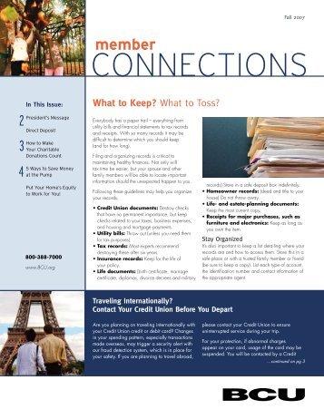 connections - BCU