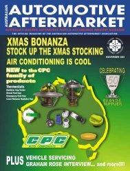 NOVEMBER 2003 - Australian Automotive Aftermarket Magazine